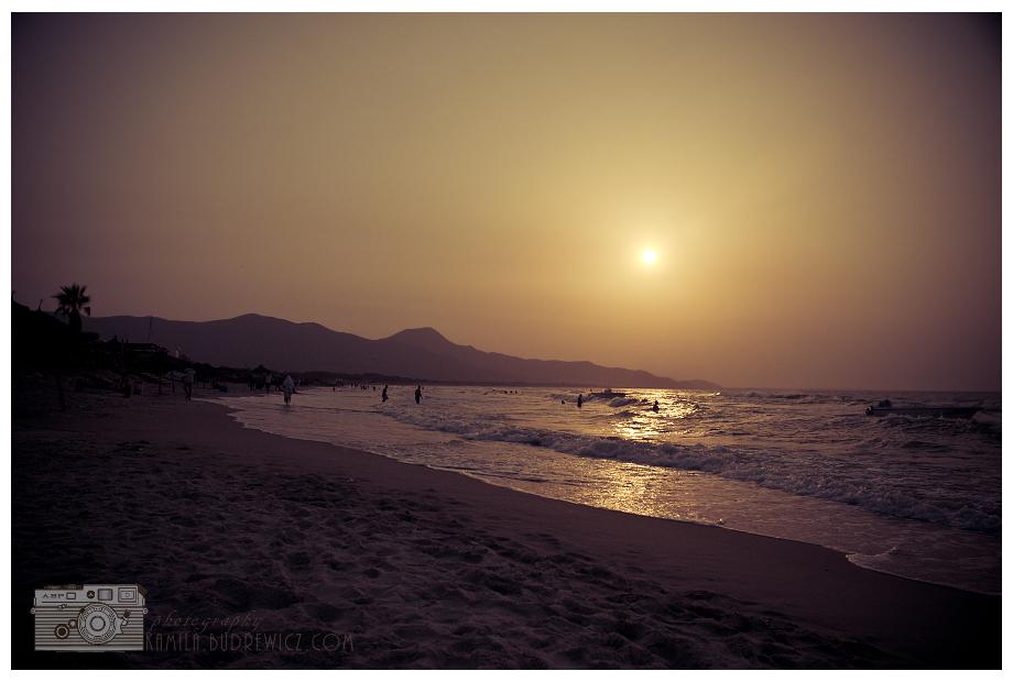 zachód słońca Tunezja 0 Nikon D70 morze zbiornik wodny niebo słońce horyzont zachód słońca wschód słońca plaża Wybrzeże ranek