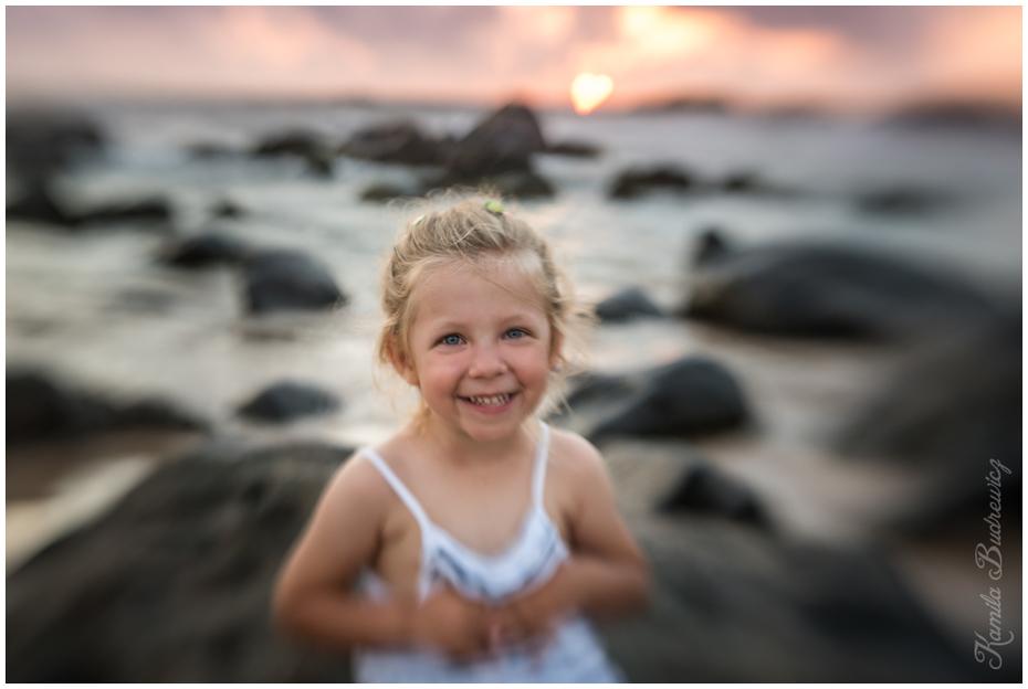 serduszkowy zachód słońca Sri Lanka 0 nikon d750 fotografia woda dziewczyna wakacje zabawa uśmiech lato Fotografia portretowa dziecko