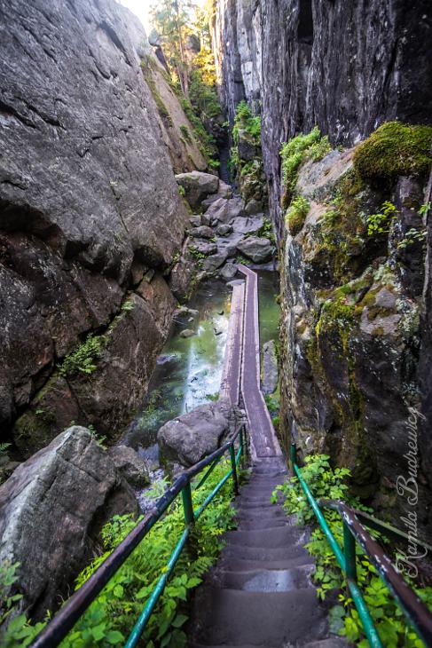 labirynt skalny na Szczelińcu