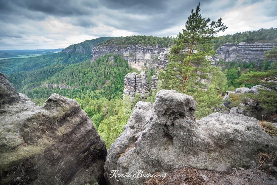 Czeska Szwajcaria 0 nikon d750 Sigma 15-30mm f/3.5-4.5 Aspherical skała pustynia drzewo Góra niebo Park Narodowy skarpa tworzenie teren krajobraz