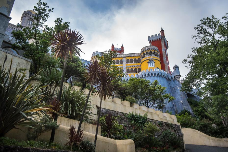 Sintra Portugalia 0 nikon d750 Sigma 15-30mm f/3.5-4.5 Aspherical Arecales drzewo palmowe drzewo atrakcja turystyczna Park rozrywki roślina rekreacja niebo park turystyka