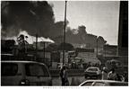 pożar w Dakarze