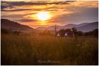 zachód słońca w Izbach