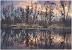 zachód słońca na poligonie, pod Pasikurowicami