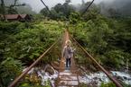Most wiszący, Boquete|escape